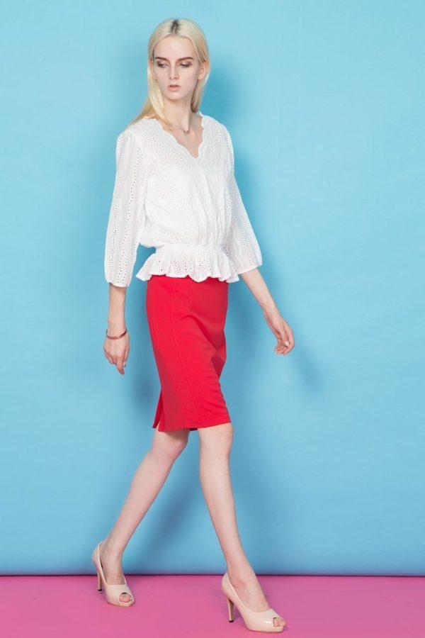 Ali Slim Pencil Skirt