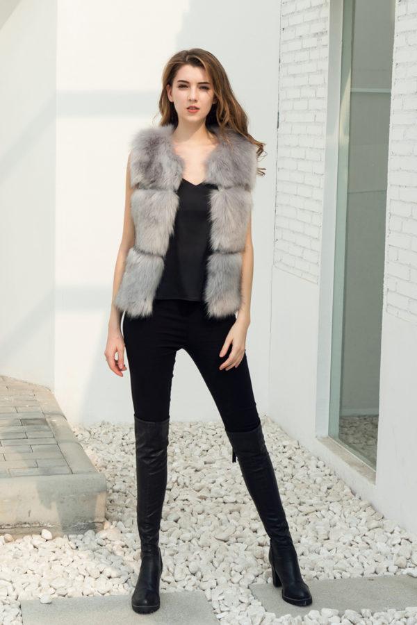 Aria Fusion Fur Vest