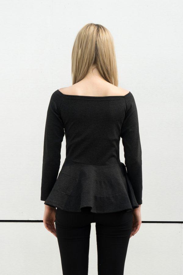 Patty Off Shoulder Top (Black)